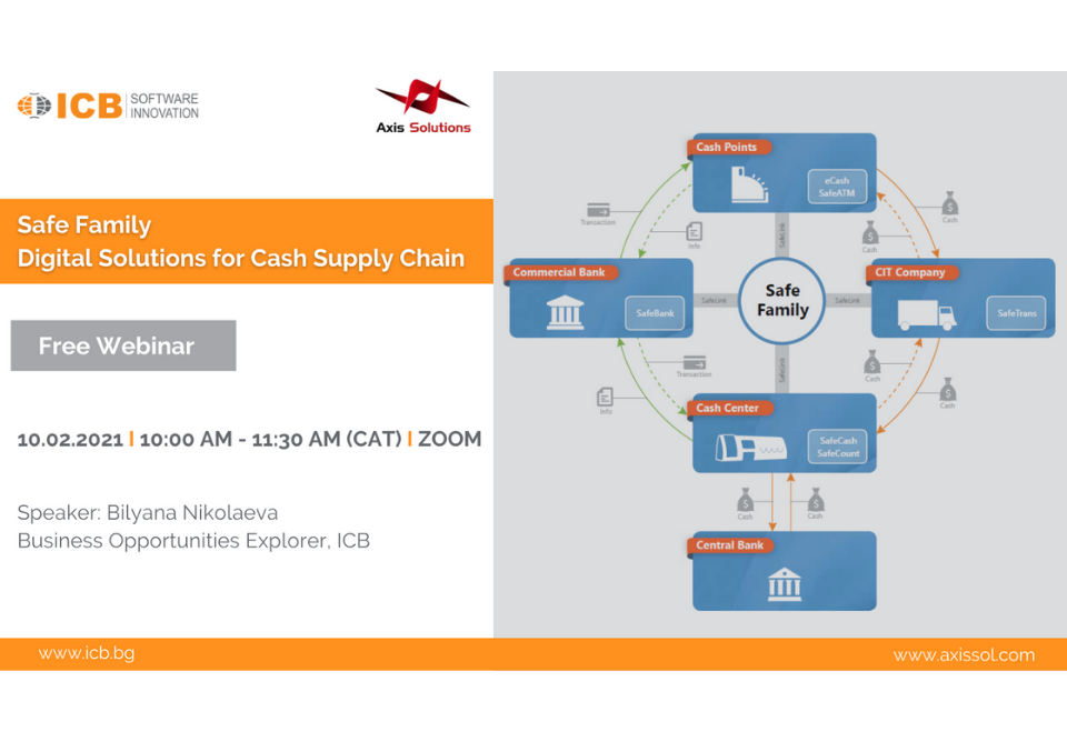 ICB - SafeFamily - Digital Solutions for cash supply chain