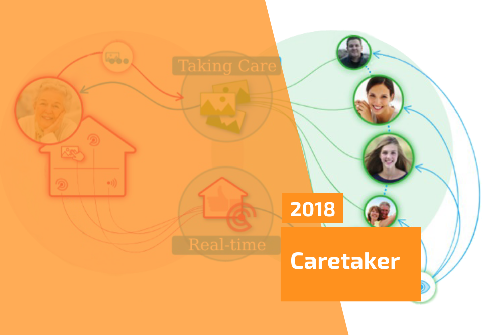 Caretaker - the IoT Platform Prototype for Remote Monitoring of Elderly People - Cover Image